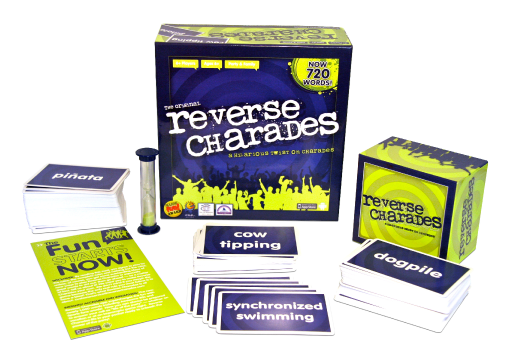 Reverse Charades Giveaway