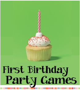 Birthday party games for one year olds parties