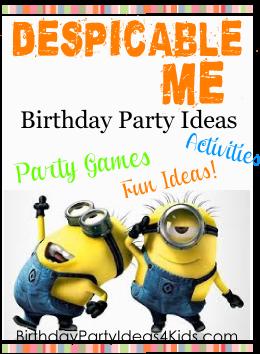 Despicable Me Party Ideas